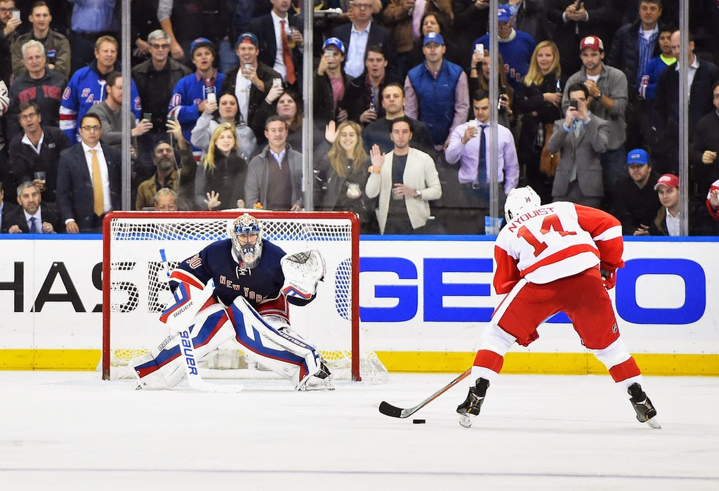 It was the first penalty shot save that Lundqvist has made since stopping  the Flyers  Daniel Briere in the 2012 Winter Classic on January 2 653395dce
