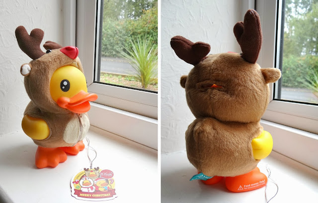 B.Duck, rubber duck money bank, Christmas coin bank