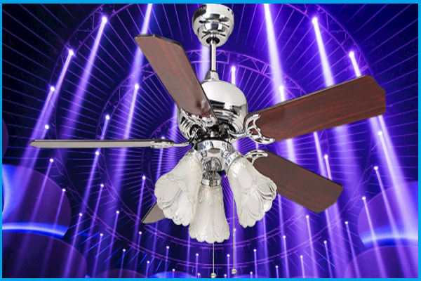 52 ceiling fans with lights
