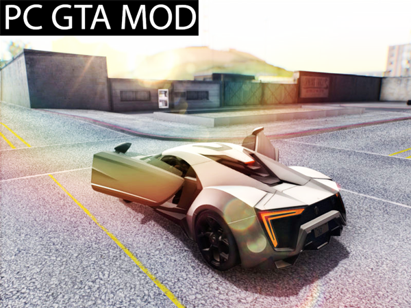 Free Download W-Motors Lykan Hypersport 2013 Mod for GTA San Andreas.