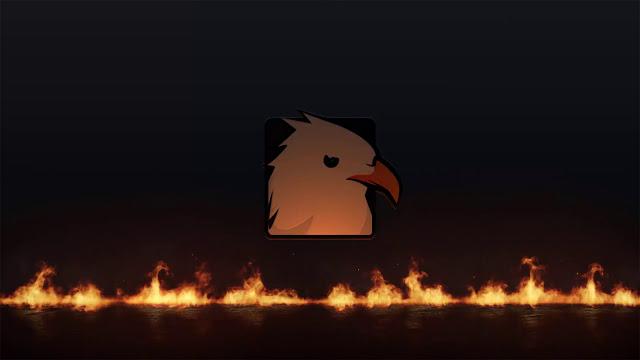 قالب إحترافي يكشف عن شعار ملحمة النار 2021 Epic Fire Logo مع عرض اللوجو الخاص بك بدقة عالية 4K