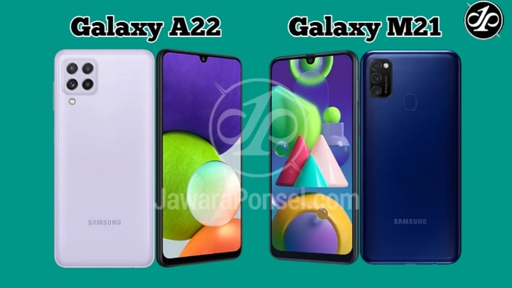 Harga Samsung Galaxy A22 VS Galaxy M21