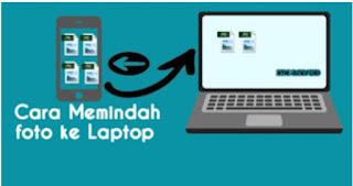 Memindah foto di hp ke laptop