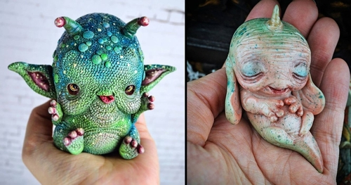 00-Sandra-Arteaga-Sculptures-of-Sweet-Creatures-from-Another-Universe-www-designstack-co