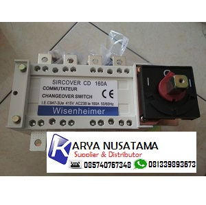 Jual Switch COS Ohm Saklar Manual 4 Pole 160 Ampere di Lampung
