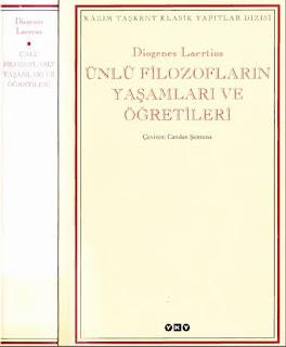 Diogenes Laertios - Ünlü Filozofların Yaşamları ve Öğretileri YKY