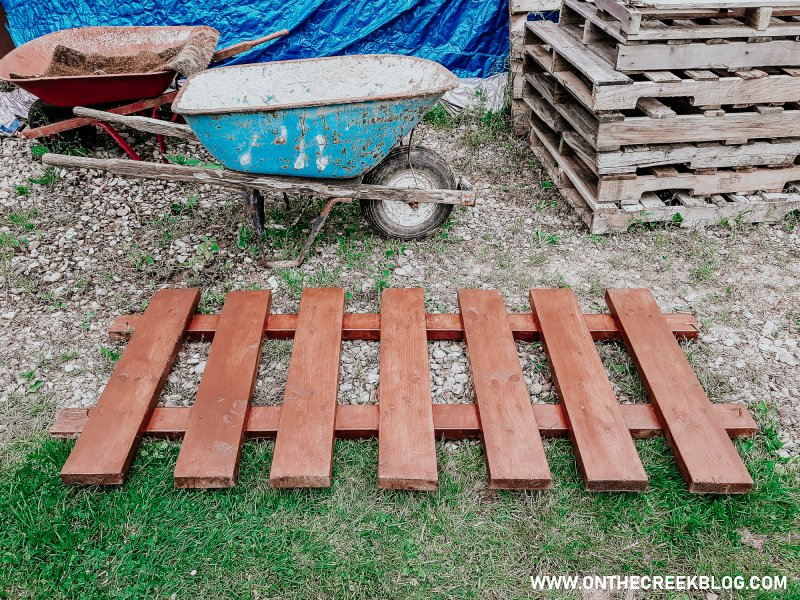 Rustic/Shabby chic fence panel!