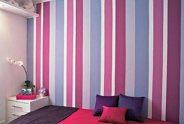 decoração-de-quarto-com-papel-de-parede