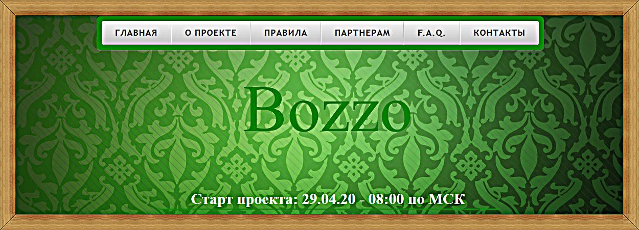 Мошеннический сайт bozzo.site – Отзывы, развод, платит или лохотрон?