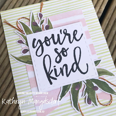 Stampin' Up! Notes of Kindness Card Kit created by Kathryn Mangelsdorf