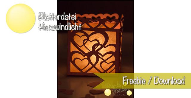 Für Verliebte: basteln mit Papier oder Karton und dem Silhouette Cameo Hobbyplotter - Freesie kostenlose Datei zur privaten Verwendung