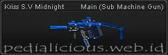 Senjata Point Blank Kriss S.V Midnight