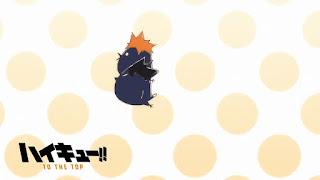 Hellominju.com: ハイキュー!! アニメ   烏野アイキャッチ 第4期 日向翔陽   影山飛雄   Haikyū!! Commercial Break    Hello Anime !