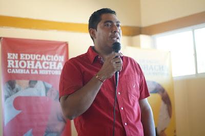 """José Bermudez Cotes: """"Acueducto de Riohacha tendrá cobertura del 95 %"""""""
