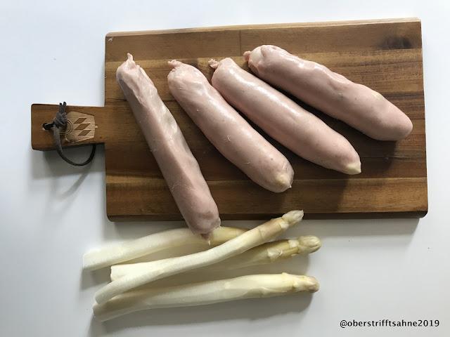 Spargelbratwurst