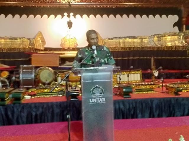 Pangelaran Wayang Kulit Warnai Dies Natalis Untar Ke-60