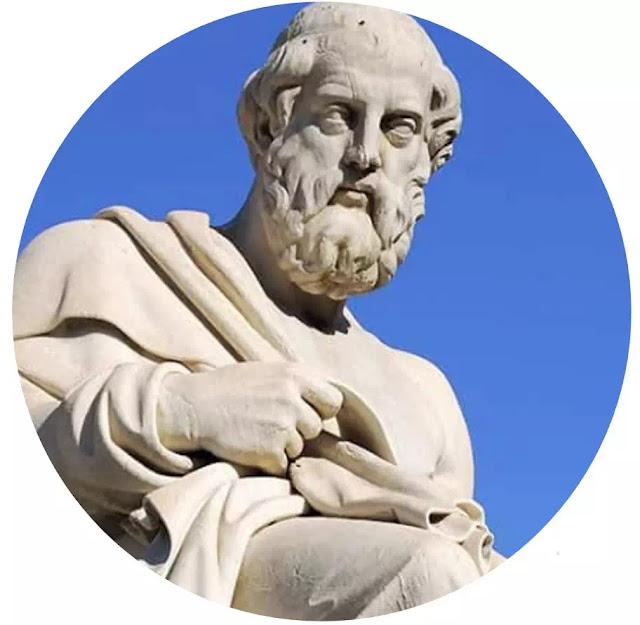 """Plato (429-347 S. M) Seorang Filosof Romawi  Pikiran Plato dituangkan di dalam bukunya """"POLITEIA"""" yang berarti negara. Sebetulnya Plato bermaksud untuk merumuskan suatu teori tentang bentuk negara yang dicita-citakan, yang organisasinya didasarkan pada pengamatan yang kritis terhadap sistem-sistem sosial yang ada pada zamannya. Menurut Plato negara dan masyarakat adalah sama. Kewajiban negara yang utama (ini adalah tipe ideal menurut Plato) ialah mempertahankan keadilan.  Negara haruslah mendukung nilai-nilai kesusilaan bagi seluruh umat manusia, bukan untuk kepentingan perorangan, di samping menegakkan nilai-nilai (cita-cita) kebenaran, keindahan, maka untuk dapat menguji nilai-nilai tersebut, diperlukan keadilan.  Selanjutnya untuk menegaskan nilai-nilai kesusilaan dari masyarakat itu dapat dicapai dalam rangka organisasi kenegaraan itu sebagai negara dan masyarakat."""