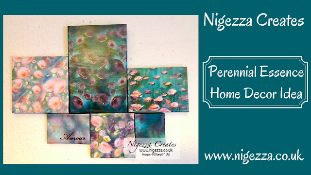 Nigezza Creates with Stampin' Up! Perennial Essence Home Decor Idea