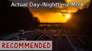 Actual Day / Nighttime Mod