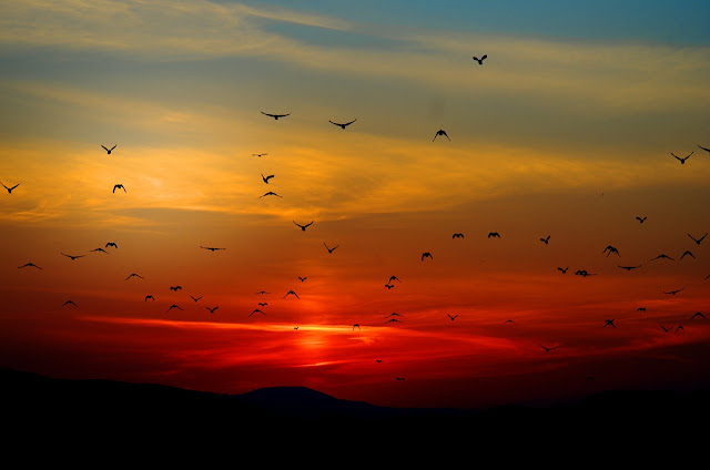 Sonnenuntergang, Wörterliste Abend, Worte mit Abend, IDeenbörse