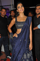 Pooja Hegde choli saree at DJ Duvvada Jaggannadham music launch ~  Exclusive 129.jpg