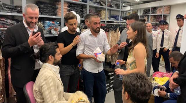 الممثل بوراك اوزجيفيت يتلقى مساعدة من الجيش اللبناني لاخراجه !