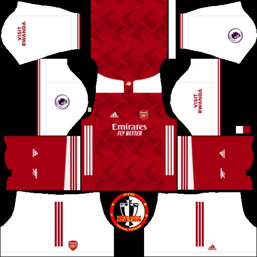 Kits Arsenal 2021 - Dream League Soccer 2019 & FTS