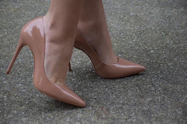 scarpe schutz nude