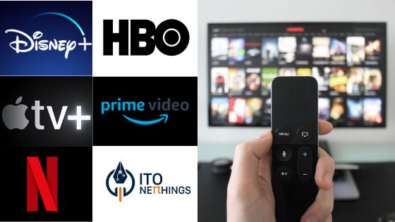 Qual o melhor serviço de streaming: Netflix, Amazon Prime Video, HBO, Disney+?