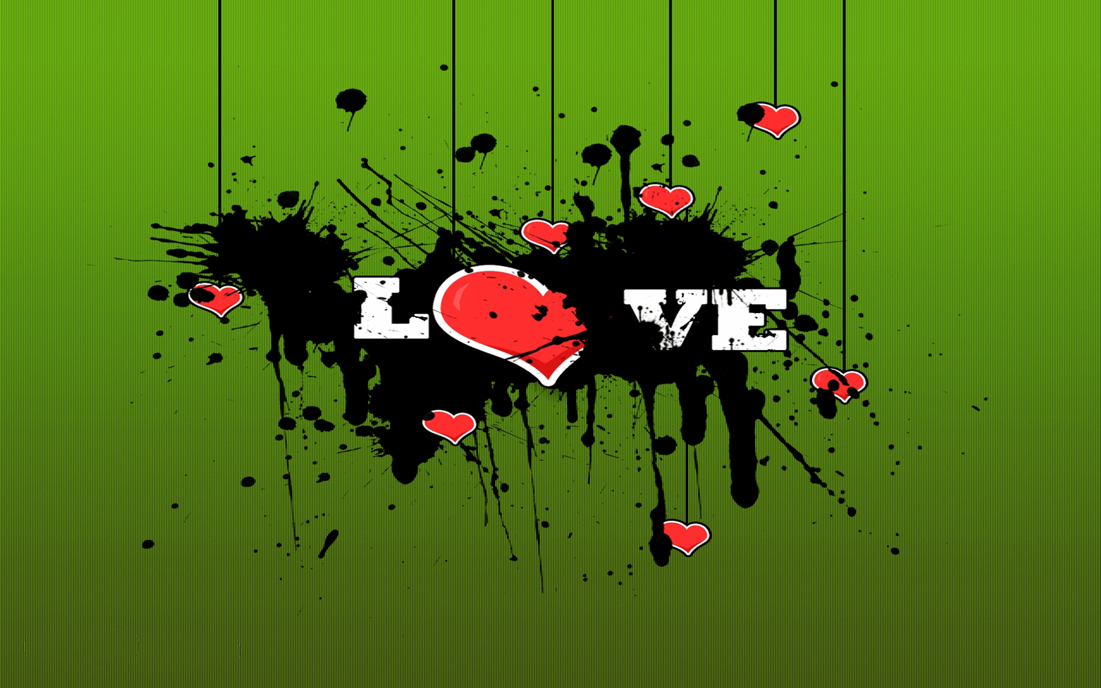 wallpaper: Creative Love Text Wallpapers