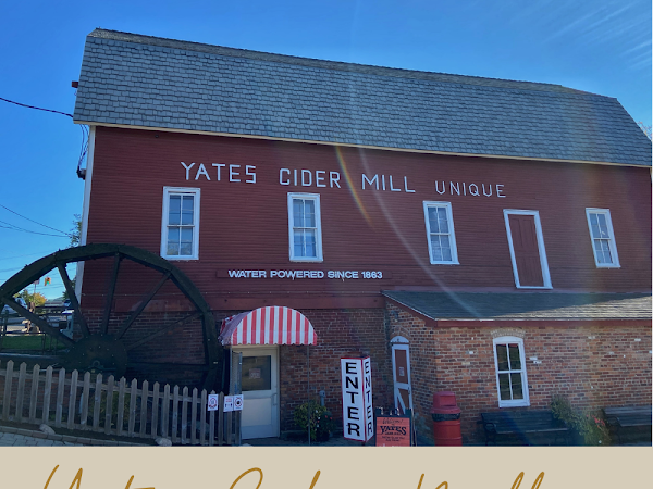 Michigan Autumn Tradition: Yates Cider Mill