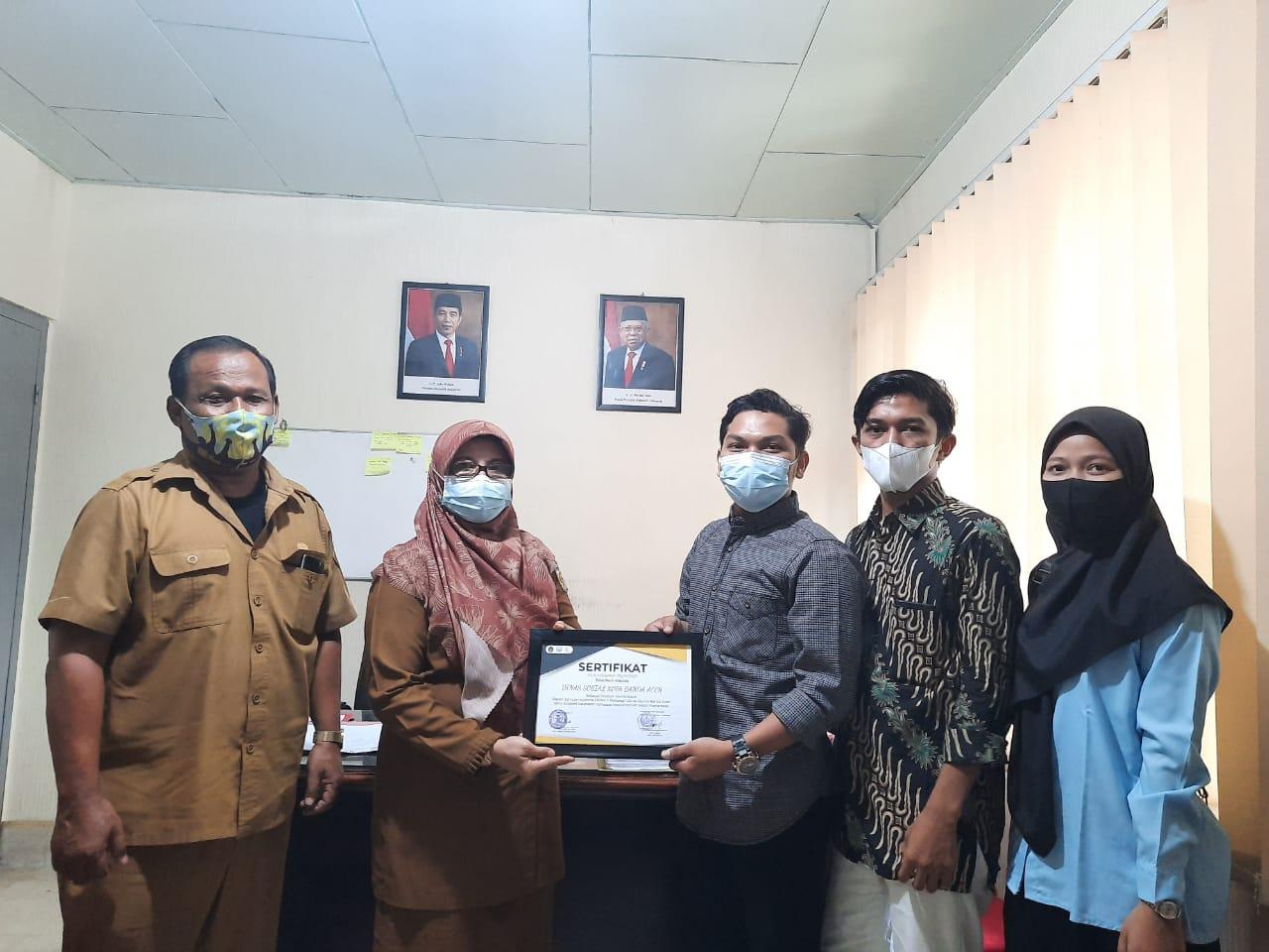 Demaf Psikologi Uin Ar Raniry Audiensi Bersama Dinsos Kota Banda Aceh Terkait Masalah Sosial