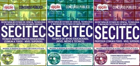 Apostila Concurso SECITEC 2018