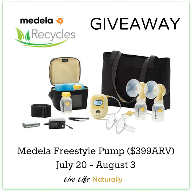 medela recycles, nciu moms, products for new moms, breastpump giveaway, medela sweeps, freestyle pump giveaway