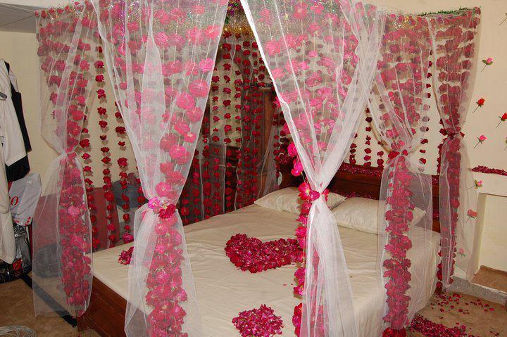 Romantic Bridal Wedding Bedroom