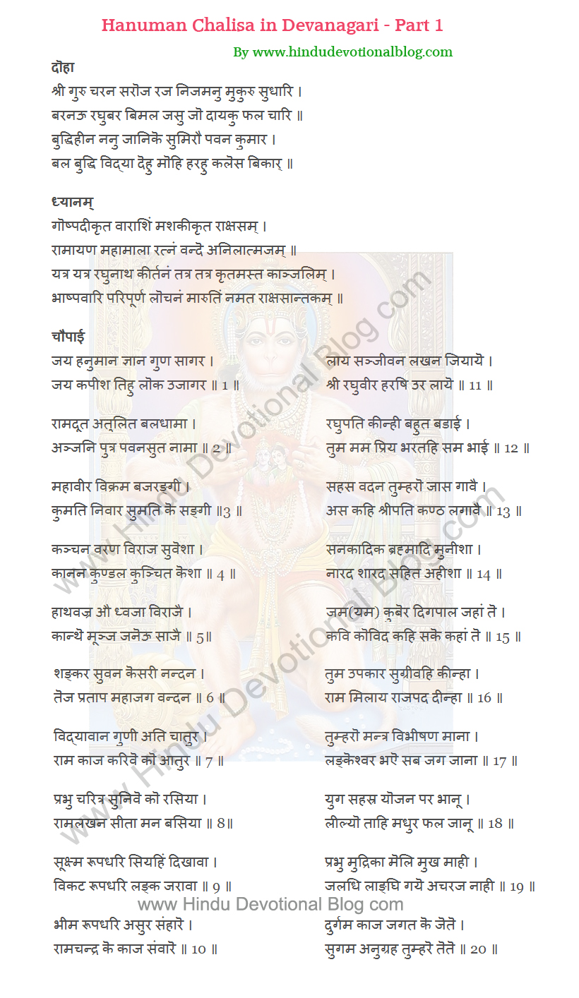 Anjaneya Dandakam Lyrics | Hanuman Dandakam Lyrics