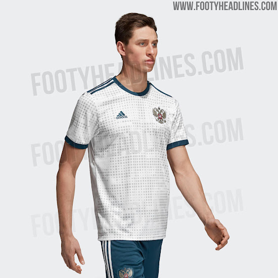 online store 74d5d 310c0 Russia 2018 World Cup Away Kit Released - Footy Headlines