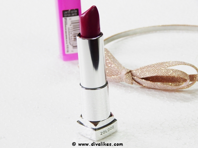 Maybelline Color Sensational Lipstick Carnation Cabernet 970 Review