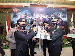 Kapolda Kepri Hadiri Upacara Virtual HUT TNI Ke-75