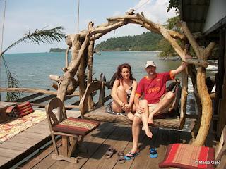 Macarena & Marco en la isla de Koh Chang, Tailandia ©VIVIR VIAJANDO