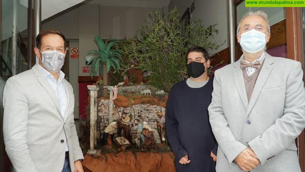 El Cabildo se suma a la tradición belenista de La Palma