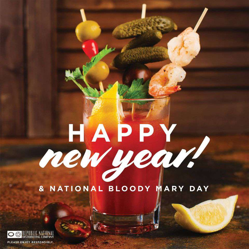 National Bloody Mary Day Wishes Sweet Images