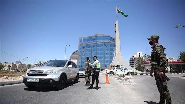 منع التجول والاغلاق في فلسطين وغزة