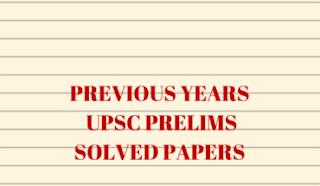 TOPIC WISE PAST PRELIMS QUESTION PAPER WITH SOLUTION