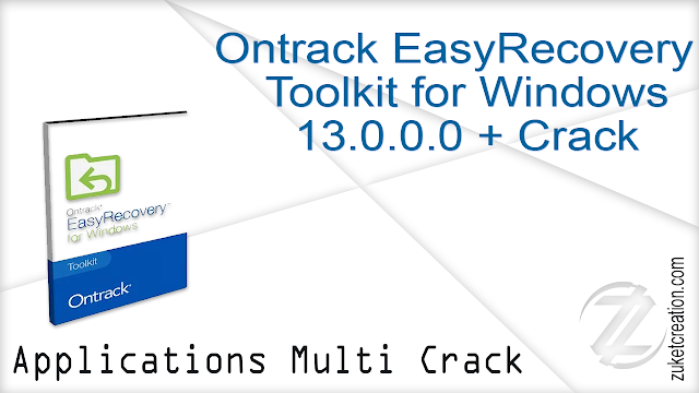 Ontrack EasyRecovery Toolkit for Windows 13.0.0.0 + Crack