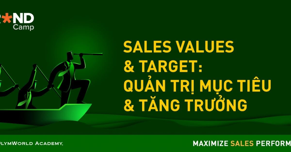 Sales Values & Target: Quản trị Mục tiêu & Tăng trưởng