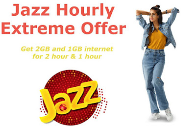 Jazz Hourly Extreme Offer