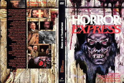 Carátula dvd: Pánico en el Transiberiano (1972) Horror Express