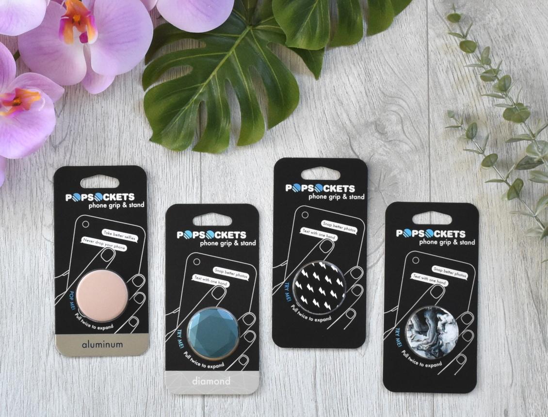 Stylischer Schutz fürs Handy - PopSockets