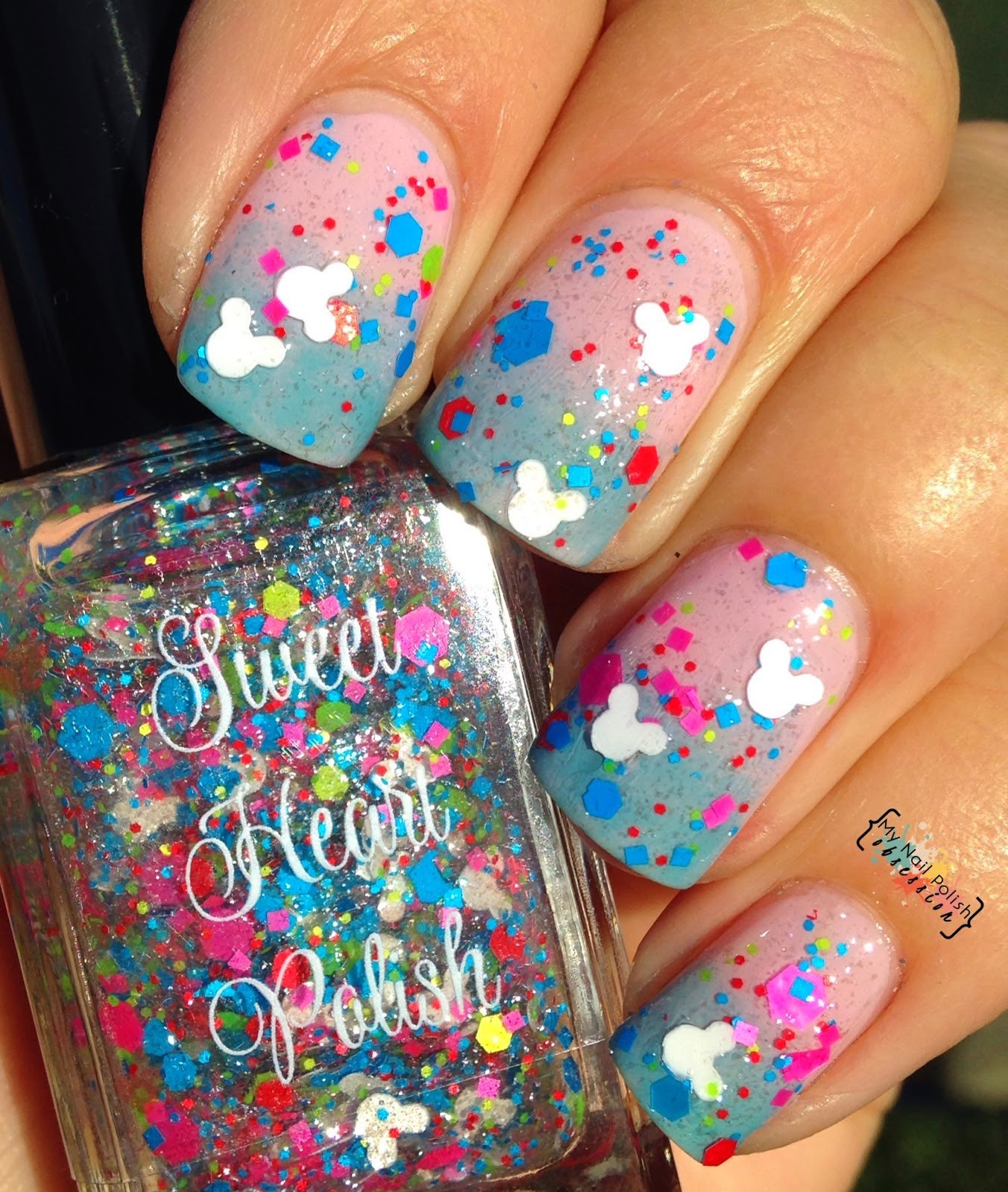 Sweet Heart Polish Disneyworld or Bust
